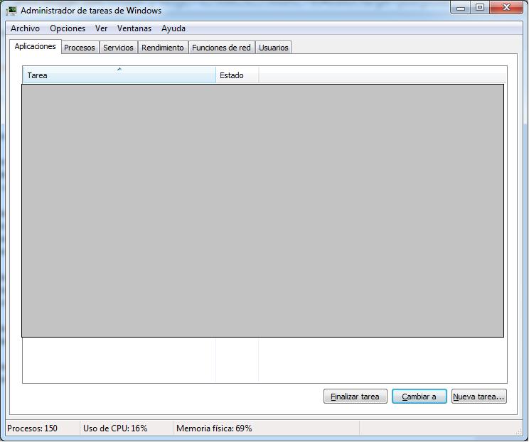 Administrador de tareas o task manager: Ctrl+Shift+Esc