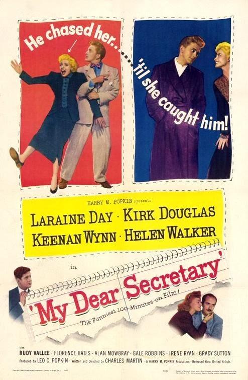 Portada película Mi querida secretaria