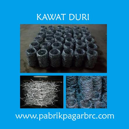 Jual Kawat Duri Murah Harga Pabrik Kualitas Terbaik. distributor pagar brc, murah harga pabrik. Hot Dip Galvanis dan Elektroplating