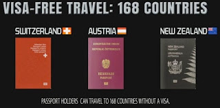 5. Switzerland, Austria dan New Zealand
