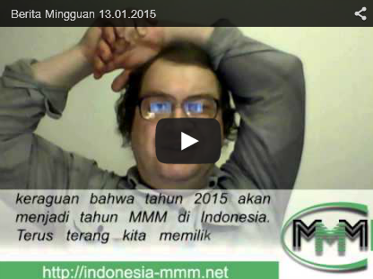 Berita Mingguan MMM Mavrodi Indonesia Tanggal 13 Januari 2015