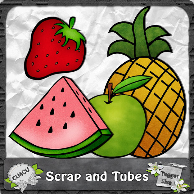 Fresh Fruits (CU4CU) .Fresh+Fruits_Preview_Scrap+and+Tubes