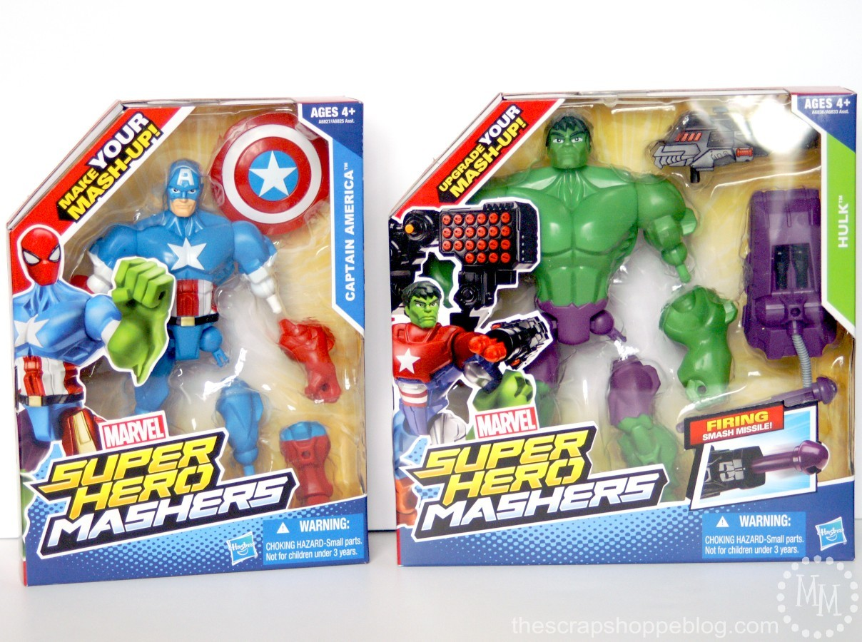 Marvel super hero mashers review the scrap shoppe