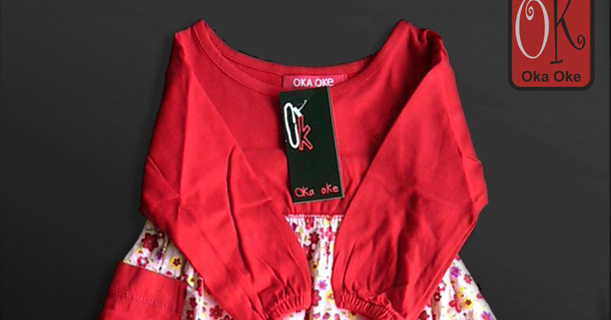 Gambar Baju Gamis Anak Oka Oke Terbaru