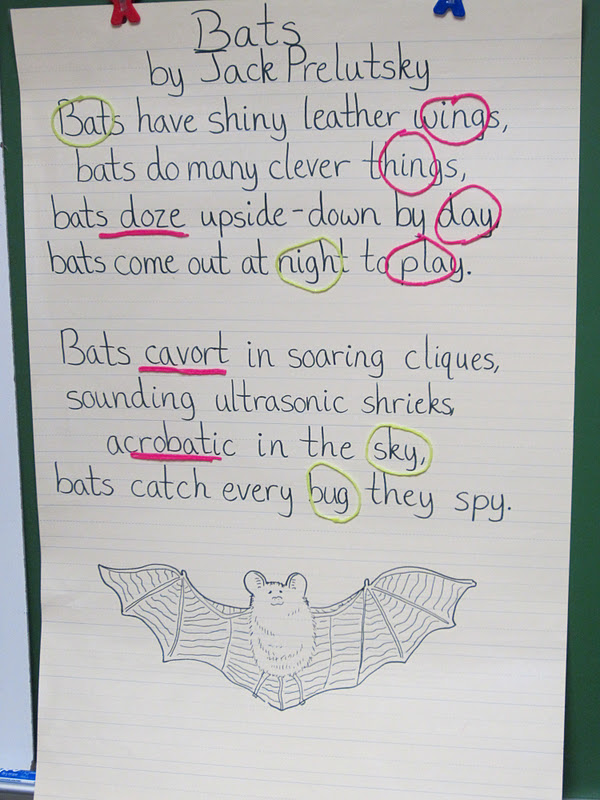 Simply The Classroom: Poetry During Shared Reading