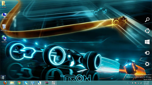 Tron Legacy Theme For Windows 7 And 8 8.1