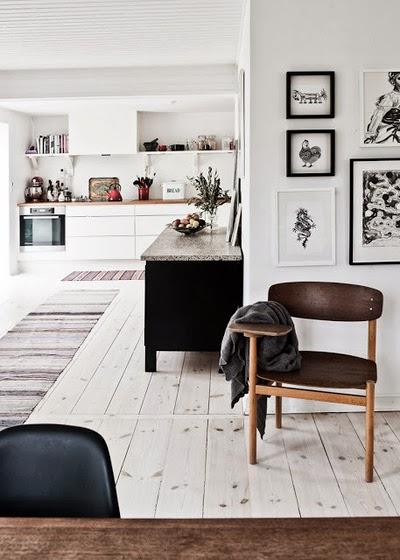 styl skandynawski, scandinavian style, ikea, vintage, black, gris