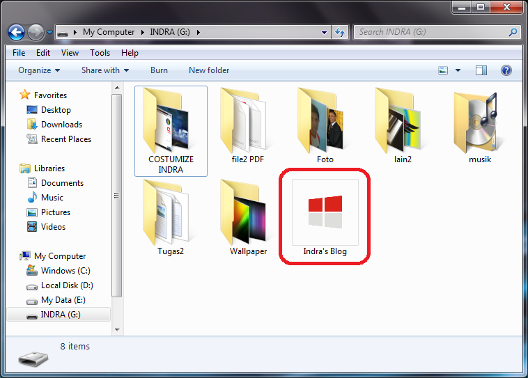 Cara Mengubah Icon Flashdisk di Windows
