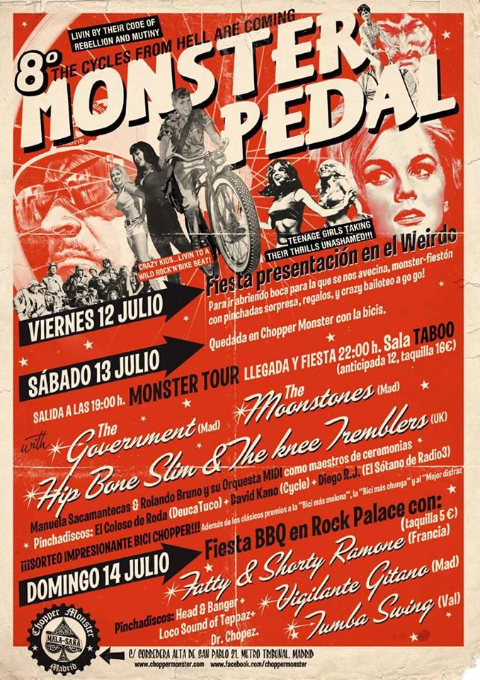monster pedal 2013