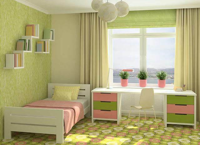Rideaux chambre jeune fille chambre de fille for Decoration chambre jeune fille