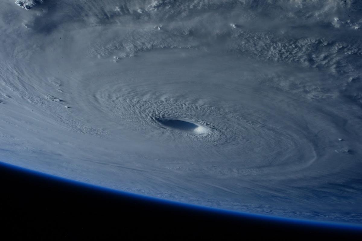 Super Typhoon Maysak from Orbit