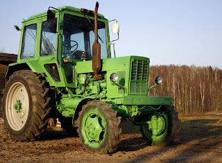 je vais vous faire faire un petit tour en tracteur