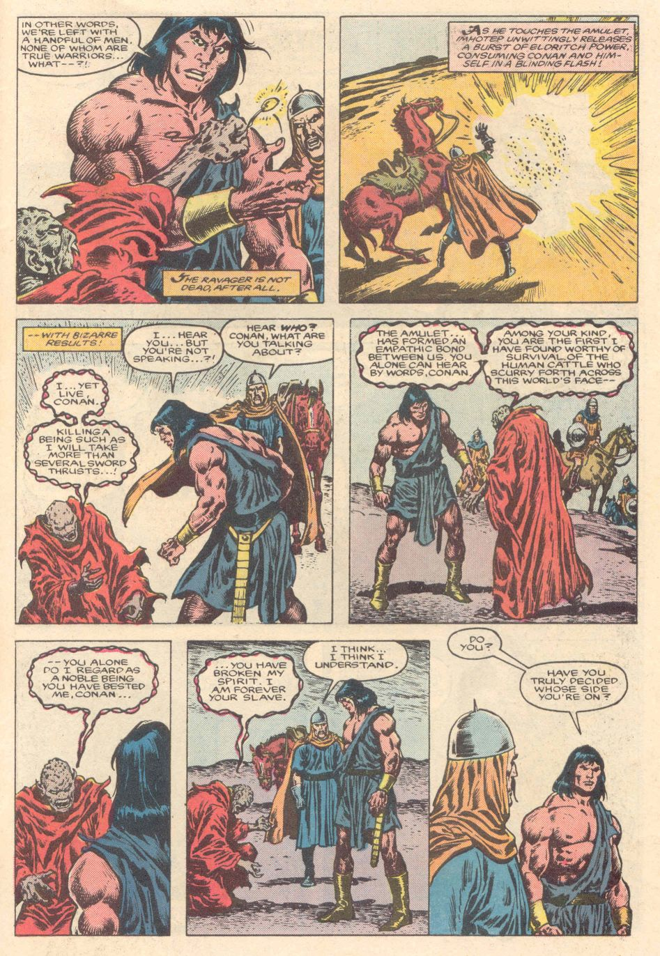 Conan the Barbarian (1970) Issue #183 #195 - English 22
