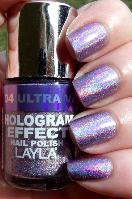 Layla Hologram Effects Ultra Violet