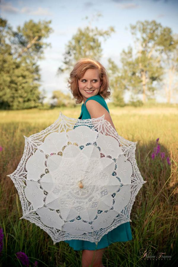 Summer Shooting with parasol