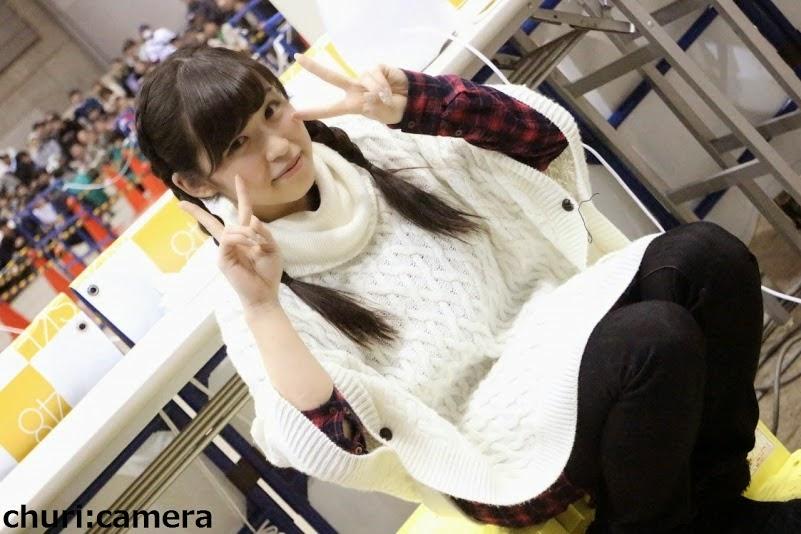 photo-iwanaga-tsugumi-pada-saat-event-handshake-terakhirnya