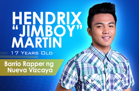 """Barrio Rapper ng Nueva Vizcaya"" - Hendrix ""Jimboy"" Martin"