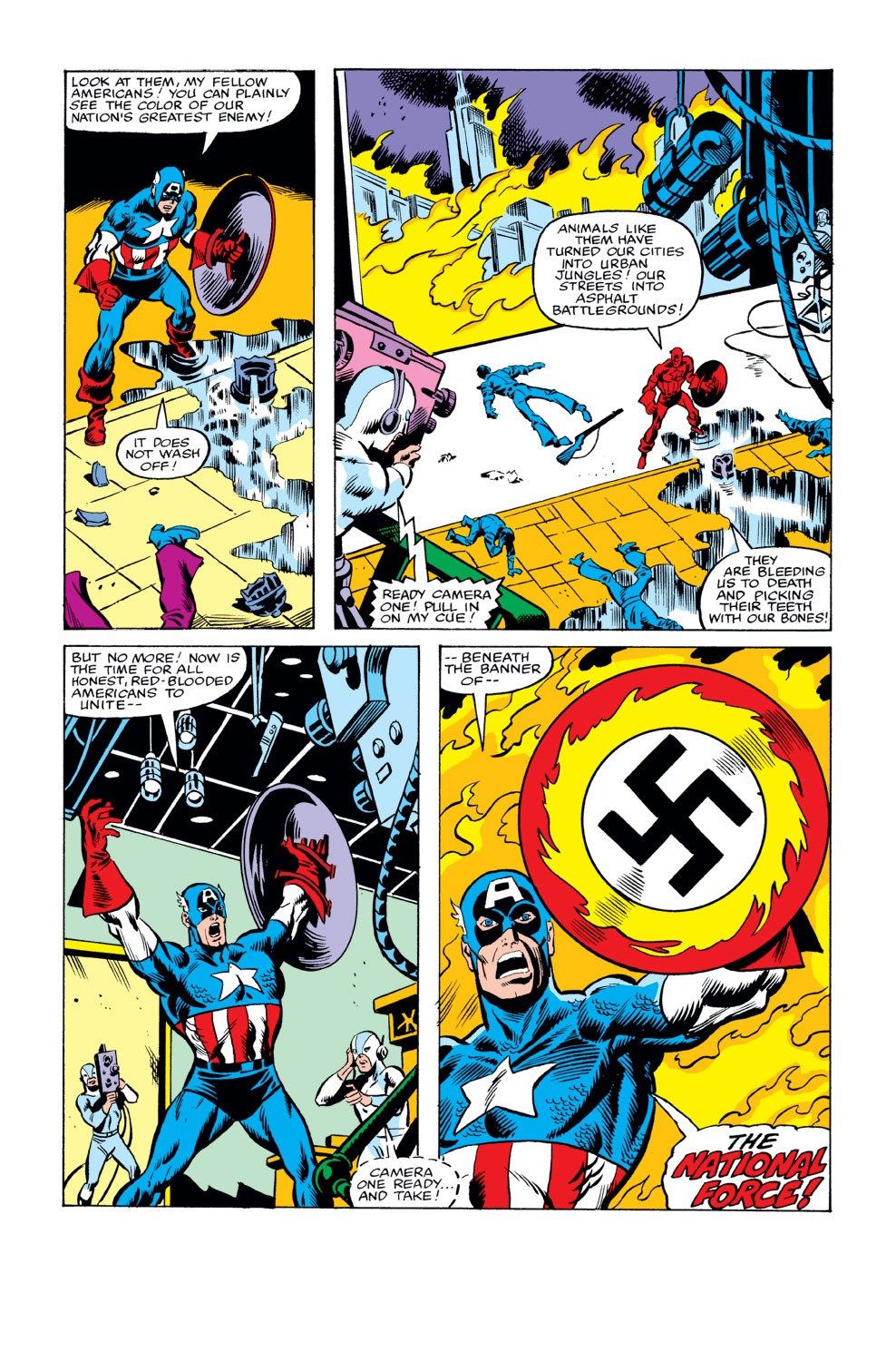 Captain America (1968) Issue #234 #149 - English 6