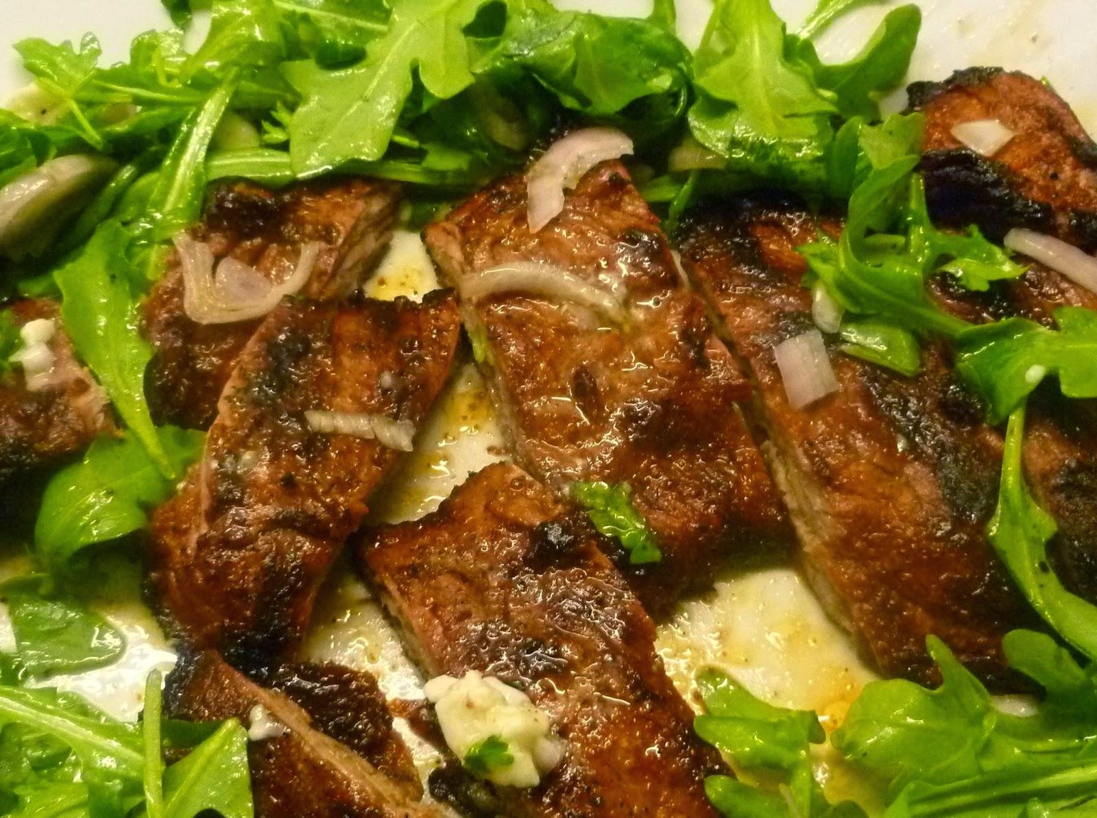 Lindaraxa: Weekend Entertaining...Flank Steak Salad With ...