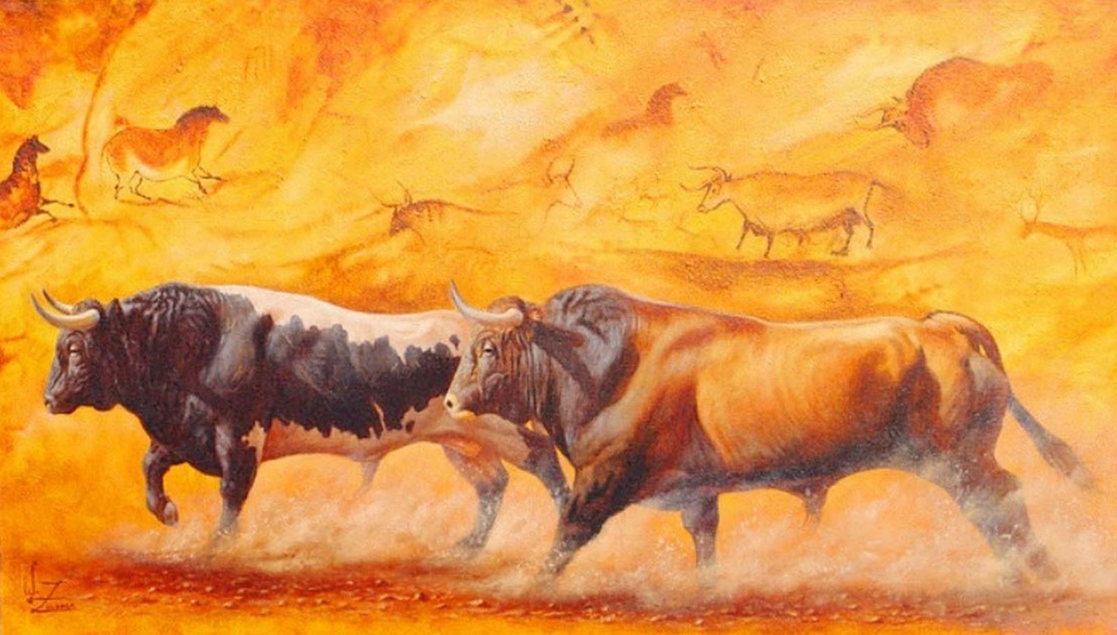 Cuadros pinturas oleos cuadros de toros - Los cuadros mas bonitos ...