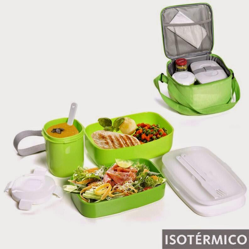 kit porta alimentos