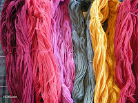 naturally-dyed yarns