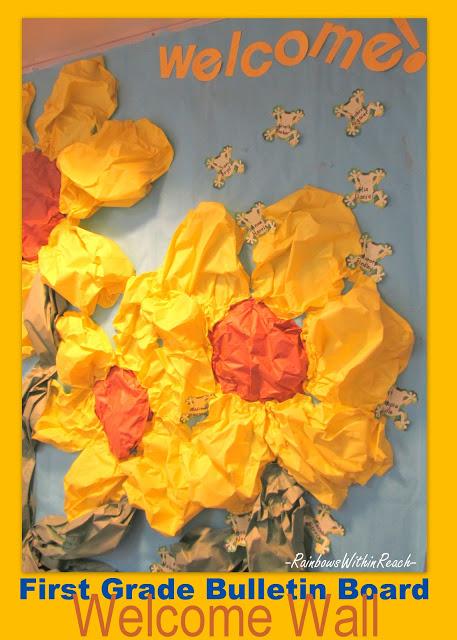 Spring Flower Bulletin Board Ideas