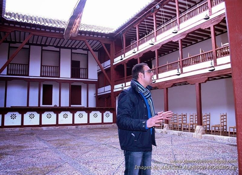 Visita Guiada a Almagro. Corral de Comedias