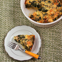 Swiss Chard And Goat Cheese Custard Bake Recipes — Dishmaps