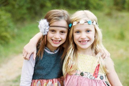 amigas de la infancia