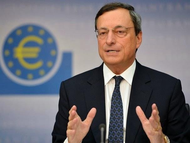 Presiden ECB Mario Draghi