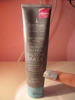 Sanctuary thermal detox mask