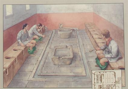 Tarraco villa romana dels munts altafulla for Inodoros antiguos