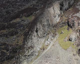 Andy McQue, Andrew McQue, Esgair Maen Gwyn, Scimitar Ridge, Llanberis Pass, Climbing, King Wad, Tufty Club Rebellion, The Bells, The Bells, The Bells