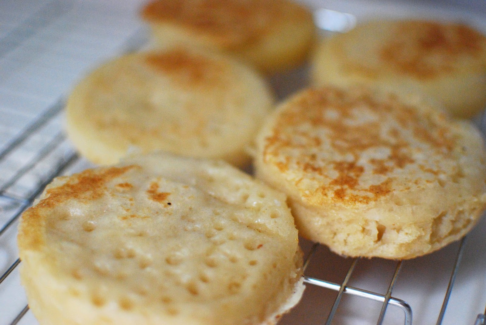 crumpets recipe