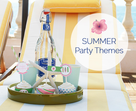 Paper And Party Love Summer Party Themes
