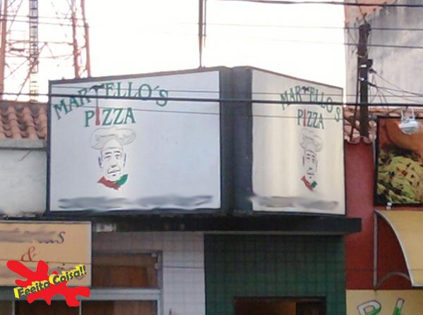 pizza, martelo, não combina, eeeita coisa