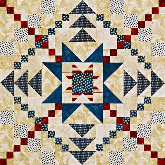 Patriotic Quilt Patterns For Free : Michele Bilyeu Creates *With Heart and Hands*: Free Patriotic Quilting (And Sewing!) Patterns ...
