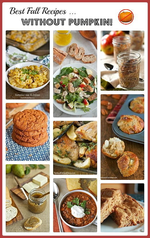 Best recipes of fall that don't include pumpkin
