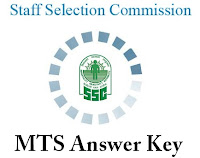 SSC MTS Exam Answer Key