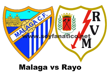 all goals Malaga vs Rayo Vallecano 4-2 Highlights