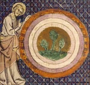 Jezus blogoslawi geocentryczny swiat Biblii