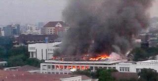 Kebakaran Kantor Setneg.