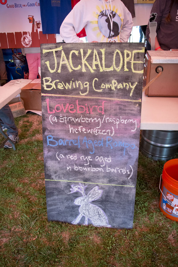Jackalope at East Nashville Beer Festival