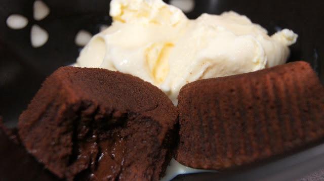 Molten Lava Cake Chocolate