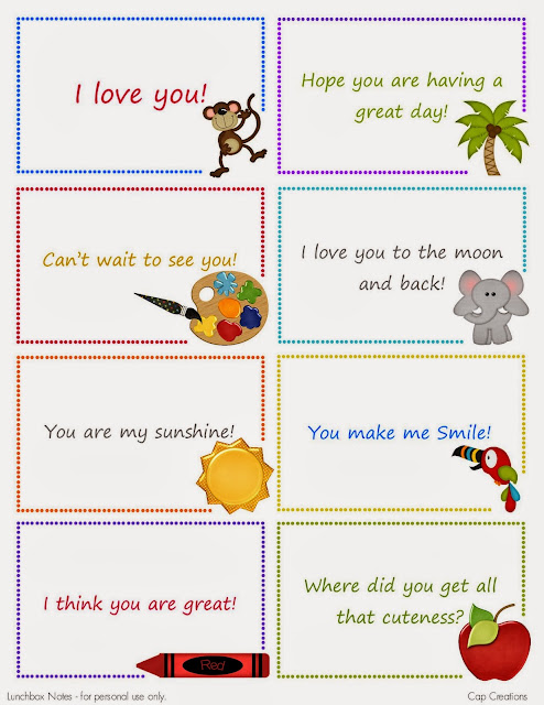 http://blog.capscreations.com/2010/08/free-printable-lunchbox-note-cards.html