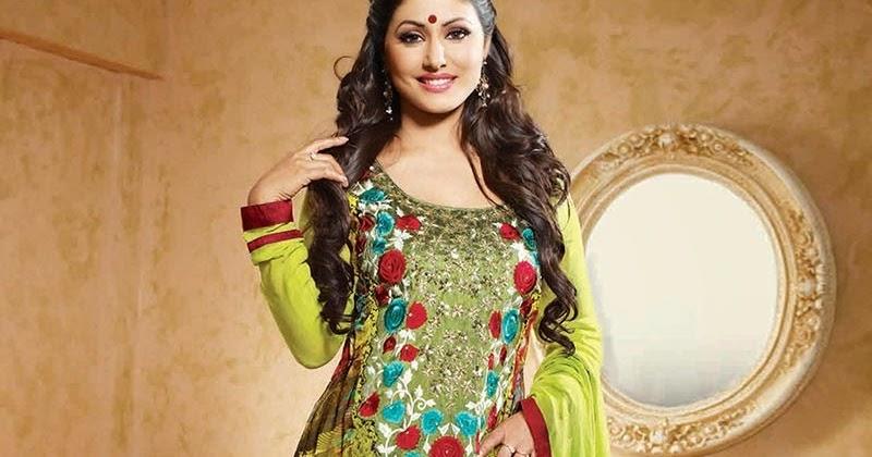 akshara in party wear long frocks and anarkali dresses 2014 15   missy lovesx3