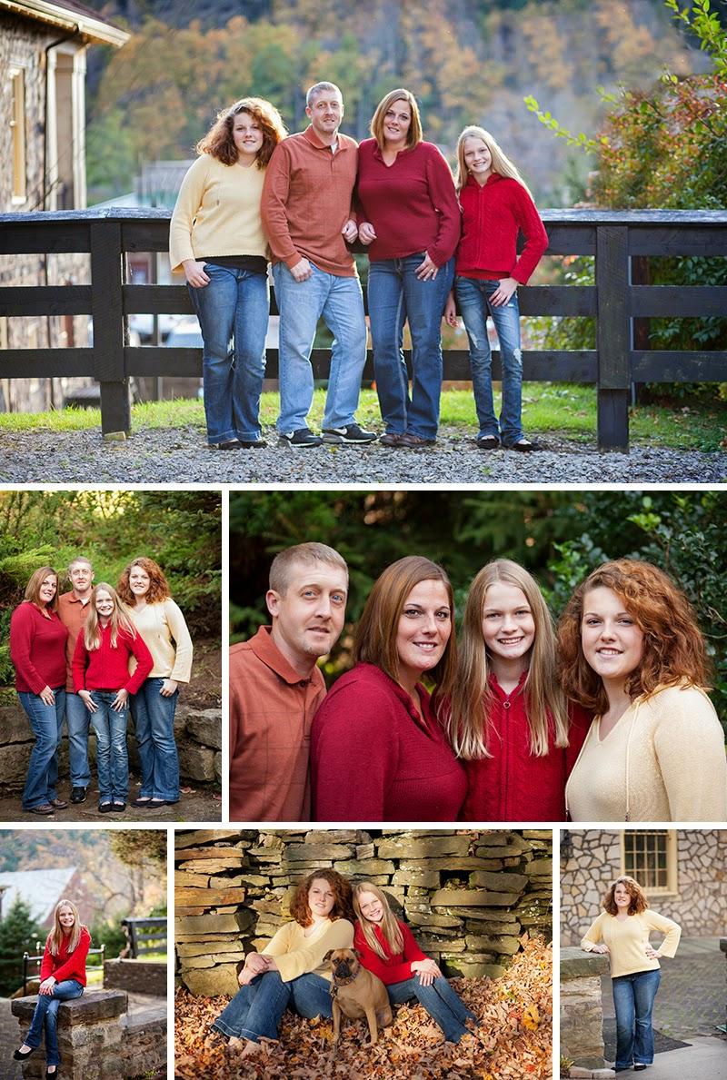 McCoy Family Sandra Jackson Photography Western PA Photographer Parker PA