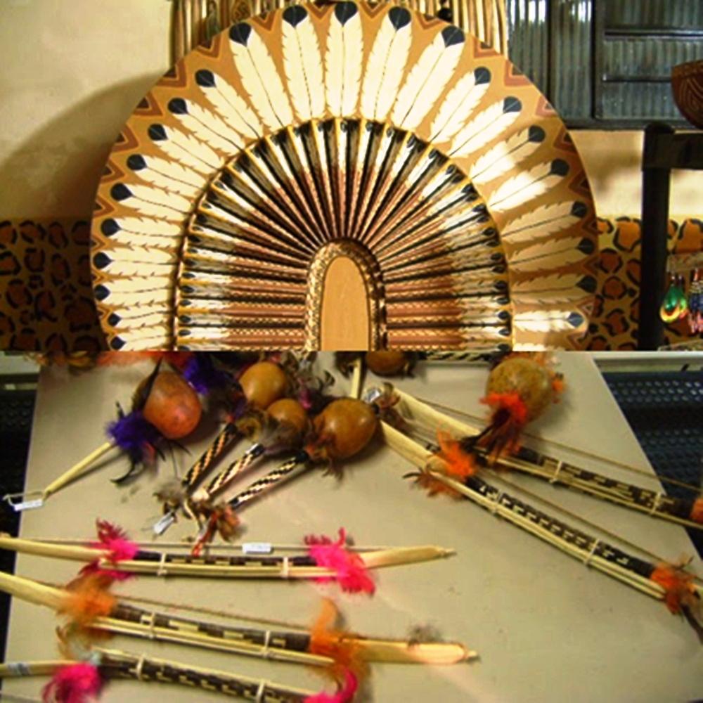 Artesanato Em Mdf Osasco ~ Blog do Edu Ambiental Artes indígenas