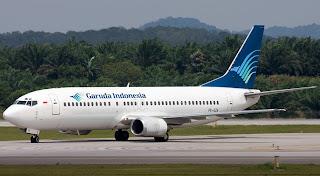 Garuda Indonesia Mendarat di Flores